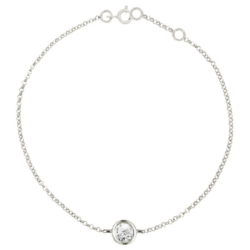 London Road London Road 9ct Gold Portobello Raindrop Diamond Bracelet