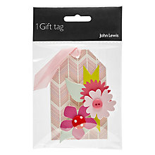Buy John Lewis Multicoloured Hand Crafted Tag Online at johnlewis.com