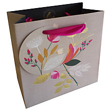 Buy Sara Miller Flower Gift Bag Small Online at johnlewis.com
