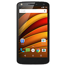 "Buy Motorola Moto X Force Smartphone, Android, 5.4"", 4G, SIM Free, 32GB, Black Online at johnlewis.com"