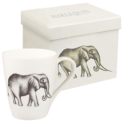 Harlequin Elephant Savanna Mug