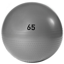 Buy Adidas Gym Ball, Grey, 65cm Online at johnlewis.com