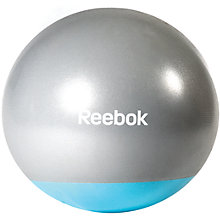 Buy Reebok Toning Gym Ball, Grey/Blue Online at johnlewis.com
