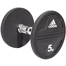Buy Adidas Dumbbell, 5kg, Black Online at johnlewis.com