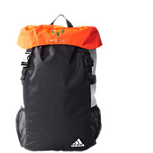 Buy Adidas Messi Kids Backpack, Black/Solar Red Online at johnlewis.com