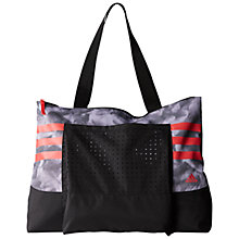 Buy Adidas Graphic Tote Bag, White/Shock Red Online at johnlewis.com