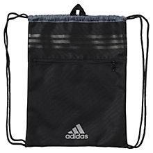 Buy Adidas Three Stripes Performance Gym Bag, Black Online at johnlewis.com