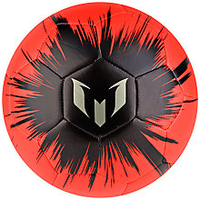 Buy Adidas Messi Mini Football Online at johnlewis.com