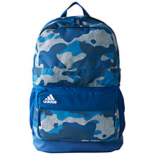 Buy Adidas Graphic Sport Medium Backpack, Mineral Online at johnlewis.com