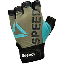 Buy Reebok Women's Speed Gloves, Grey Online at johnlewis.com