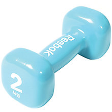 Buy Reebok 2kg Dumbbell, Blue Online at johnlewis.com