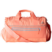 Buy Adidas Gym Teambag, Coral Online at johnlewis.com