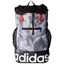 Buy Adidas Performance Women's Backpack, White/Black Online at johnlewis.com