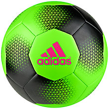 Buy Adidas Ace Glide Football, Green Online at johnlewis.com