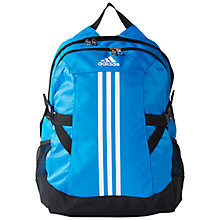 Buy Adidas Power II Backpack, Blue Online at johnlewis.com