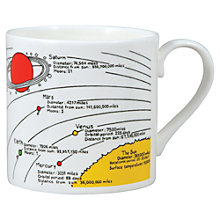 Buy Mclaggan Smith Educational Planets Mug Online at johnlewis.com