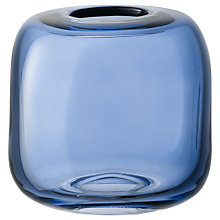 Buy LSA International Molten Cube Vase, 11cm Online at johnlewis.com