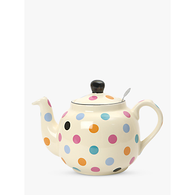 Image of London Pottery Spot Teapot with Built-In Ceramic Filter, 2 Cup