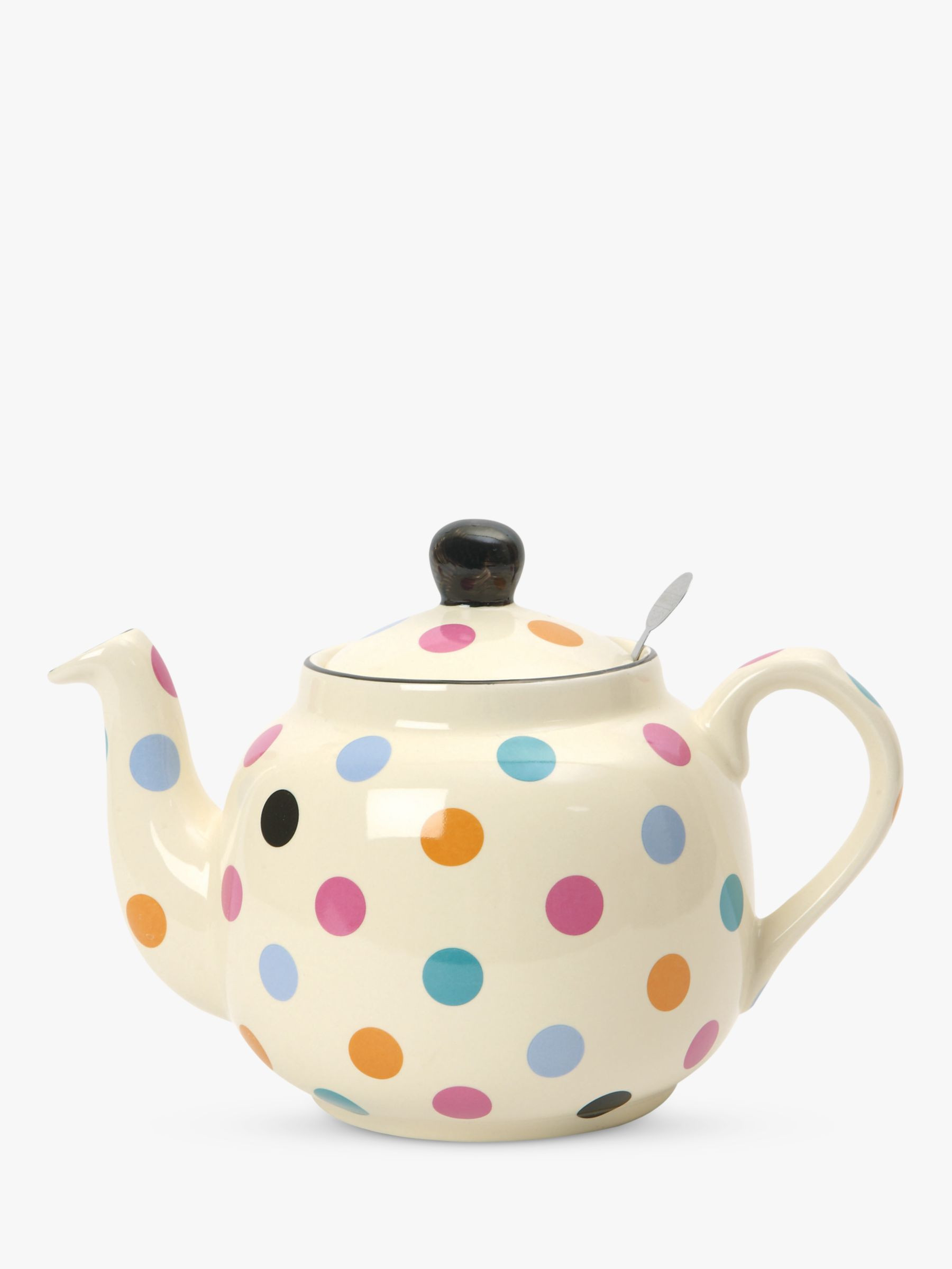 London Pottery London Pottery Spot Teapot with Built-In Ceramic Filter, 2 Cup