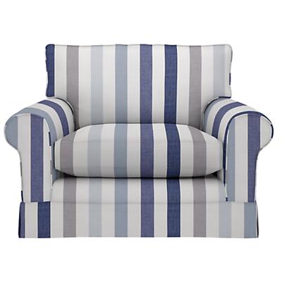 John Lewis Padstow Snuggler, Solva Stripe Blue Print