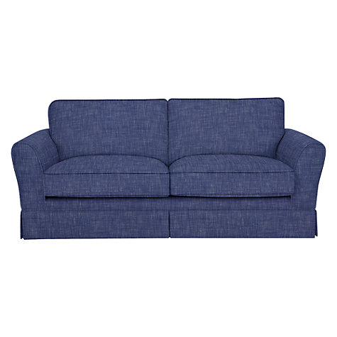buy john lewis nelson large sofa solva blue print john lewis. Black Bedroom Furniture Sets. Home Design Ideas