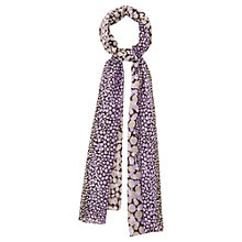 Buy Viyella Pebble Scarf, Navy Online at johnlewis.com