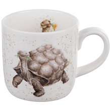 Buy Royal Worcester Wrendale Tortoise Mug Online at johnlewis.com