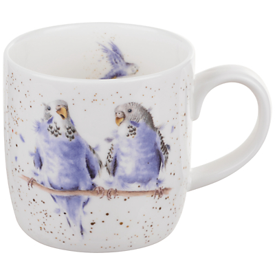 Royal Worcester Wrendale Budgie Mug