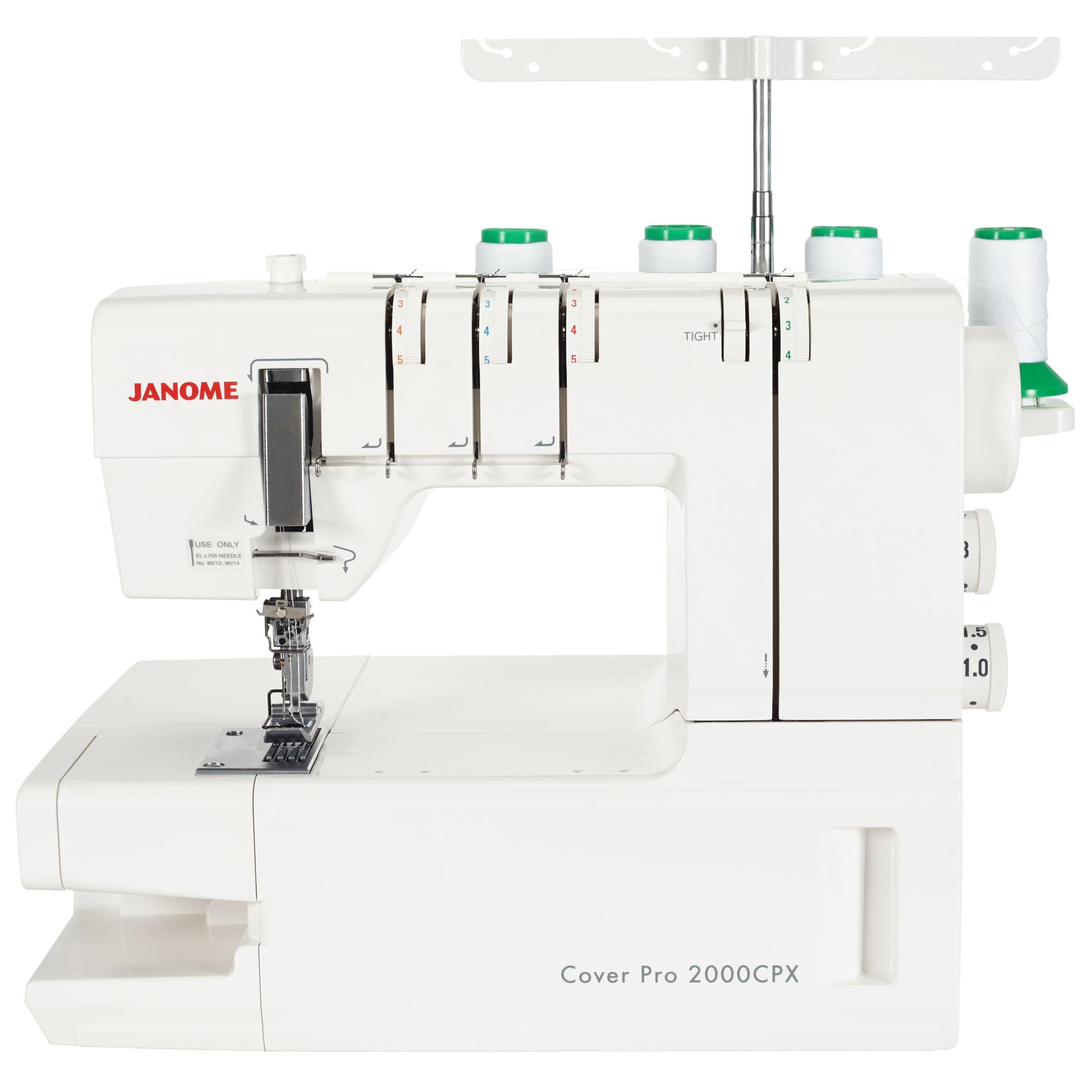 Janome Janome Coverpro 2000CPX Coverstitch Hemmer Machine