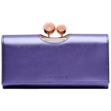 Buy Ted Baker Leather Crystal Bobble Matinee Purse Online at johnlewis.com