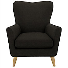 Buy John Lewis Thomas Armchair, Quinn Sable Online at johnlewis.com