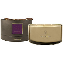 Buy True Grace Black Lily Scented Bowl Candle, Large Online at johnlewis.com