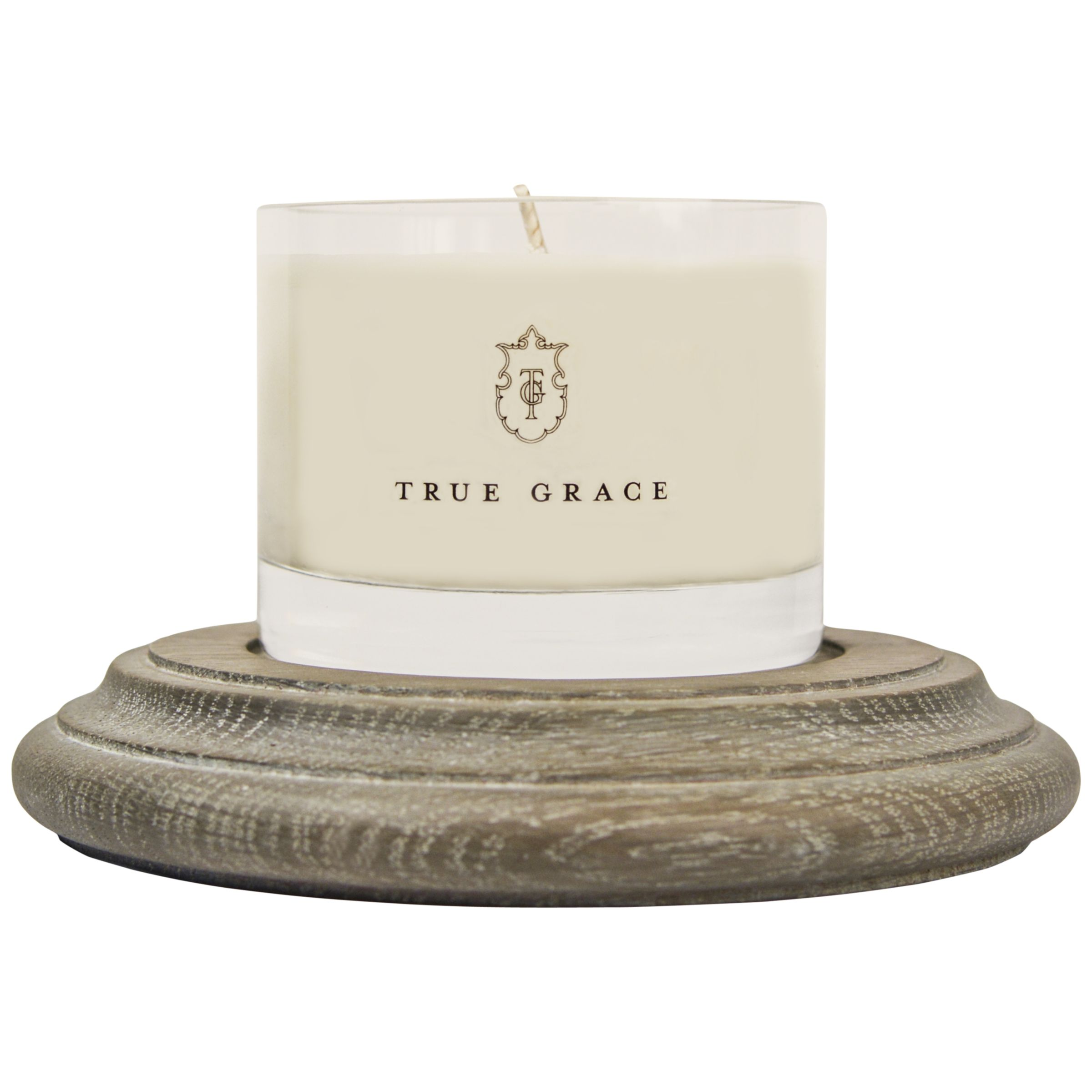 True Grace True Grace Oak Plinth Candle Holder