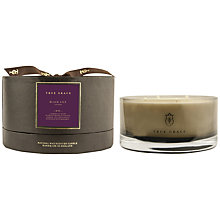 Buy True Grace Black Lily Scented Bowl Candle, Medium Online at johnlewis.com