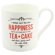 Buy Alice Scott 'Money Can't Buy You Happiness, But..' Mug Online at johnlewis.com