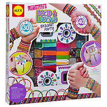 Buy ALEX Ultimate Bead & Weave Bracelet Party Online at johnlewis.com
