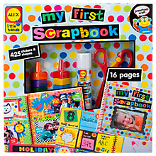 Buy ALEX My First Scrapbook Online at johnlewis.com