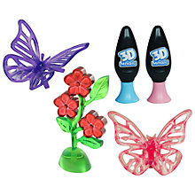 Buy 3D Magic Butterfly and Flower Set Online at johnlewis.com