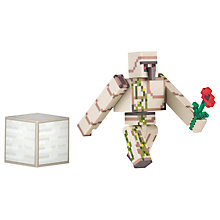 Buy Minecraft Iron Golem Action Figure Online at johnlewis.com