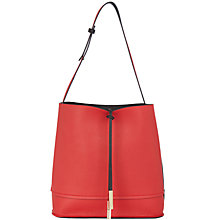 Buy Oasis Reversible Hobo Bag, Multi/Red Online at johnlewis.com