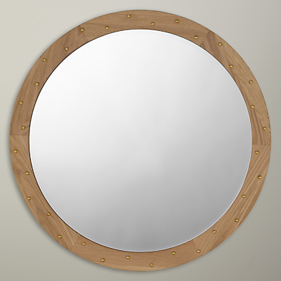 Image of Bethan Gray for John Lewis Genevieve Wall Mirror, Oak