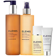 Buy Elemis Sensitive Cleansing Collection Skincare Gift Set Online at johnlewis.com