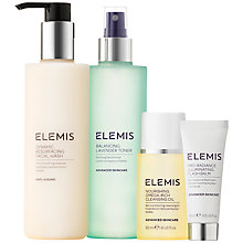 Buy Elemis Dynamic Resurfacing Cleansing Collection Skincare Gift Set Online at johnlewis.com