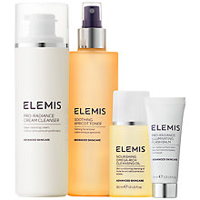 Buy Elemis Beautifully Radiant Cleansing Collection Skincare Gift Set Online at johnlewis.com