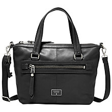 Buy Fossil Dawson Leather Satchel Bag Online at johnlewis.com
