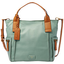 Buy Fossil Emerson Leather Satchel Bag Online at johnlewis.com