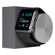 Buy Native Union Apple Watch Charging Dock, Matte Graphite Silicone, Slate Online at johnlewis.com