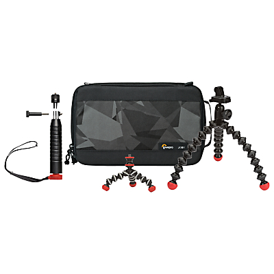 Joby 3-Piece Daymen Action Base Kit With Case For GoPro & Other Action Cameras