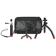 Buy Joby 3-Piece Daymen Action Base Kit With Case For GoPro & Other Action Cameras Online at johnlewis.com