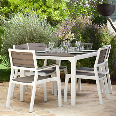 Keter Harmony 6-Seat Dining Set